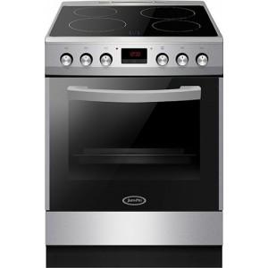Juro Pro ΗΚ7211SP Ηλεκτρική Κουζίνα Με Κεραμικές Εστίες 77 lt - Α