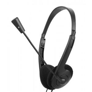 OVLENG 3.5mm Ακουστικά L900MV, Μικρόφωνο, Black