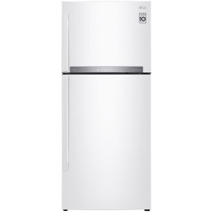 LG Δίπορτο Ψυγείο GTB574SHHZD Λευκό 5 ετής εγγύηση