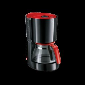Melitta Καφετιέρα Φίλτρου Enjoy Glass II Μαύρο-Κόκκινο