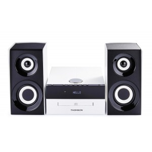 THOMSON HI-FI System MIC301BT, bluetooth, FM/CD/MP3/USB, 75W, λευκό