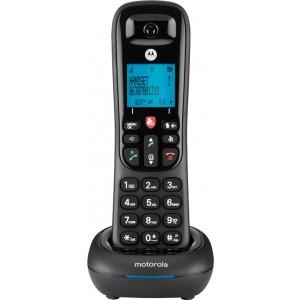 Motorola CD4001 Μαύρο Ασύρματο Τηλέφωνο