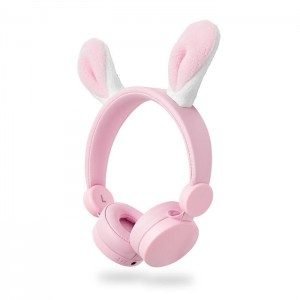 NEDIS On-ear ενσύρματα ακουστικά Animaticks Robby Rabbit HPWD4000PK