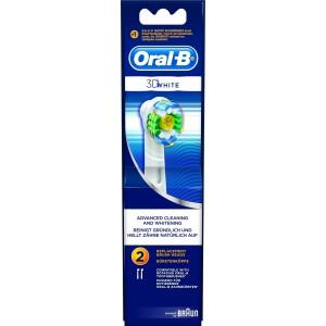 Oral B 3D White Ανταλλακτικές Κεφαλές 2 τεμ