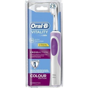 Braun Oral-B Οδοντόβουρτσα Vitality Crossaction Pink