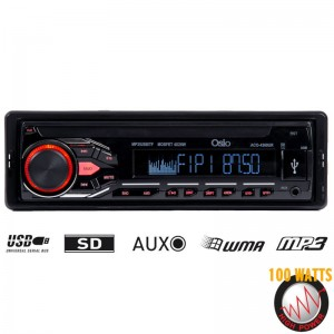 Osio ACO-4369UR Ηχοσύστημα αυτοκινήτου με USB, κάρτα SD και Aux-In