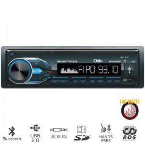 Osio ACO-4525UBT Ηχοσύστημα αυτοκινήτου με Bluetooth, USB κάρτα SD και Aux-In