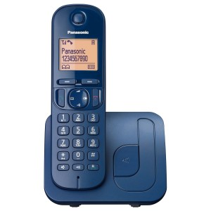 Panasonic Ασύρματο Τηλέφωνο KX-TGC210GRC Μπλε