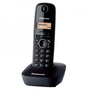 Panasonic KX-TG1611GRH Black Ασύρματο Τηλέφωνο