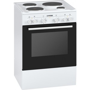 Pitsos Εμαγιέ Κουζίνα PHCB123K29 Λευκή