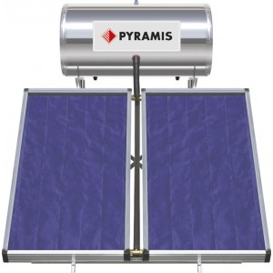 Pyramis 160lt/3m² Glass Διπλής Ενέργειας 026000405