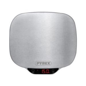 Pyrex SB720 Silver Ζυγαριά Κουζίνας