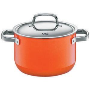 Silit Χύτρα με καπάκι Wild Orange 24cm