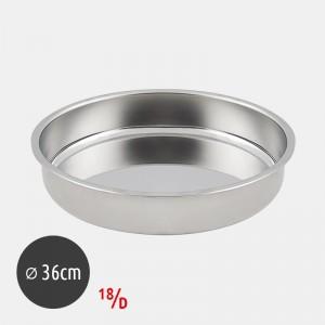 Roller Ταψί Στρογγυλό 34cm 18/D Inox 13034