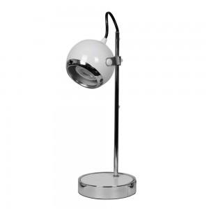 Telco Φωτιστικό Γραφείου QM1608 Λευκό/Chrome