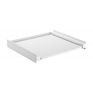 BRATECK Βάση σύνδεσης πλυντηρίου/στεγνωτηρίου WDS-01, με συρτάρι, λευκή