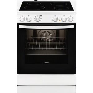 Zanussi Κεραμική Κουζίνα ZCV65050WA Λευκή